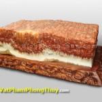 Đá Thịt Khủng Long Hóa Thạch   Biểu tượng của sự giàu sang, no đủ