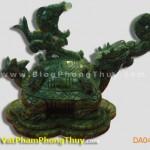 Rùa Đầu Rồng Phong Thủy - Long Quy